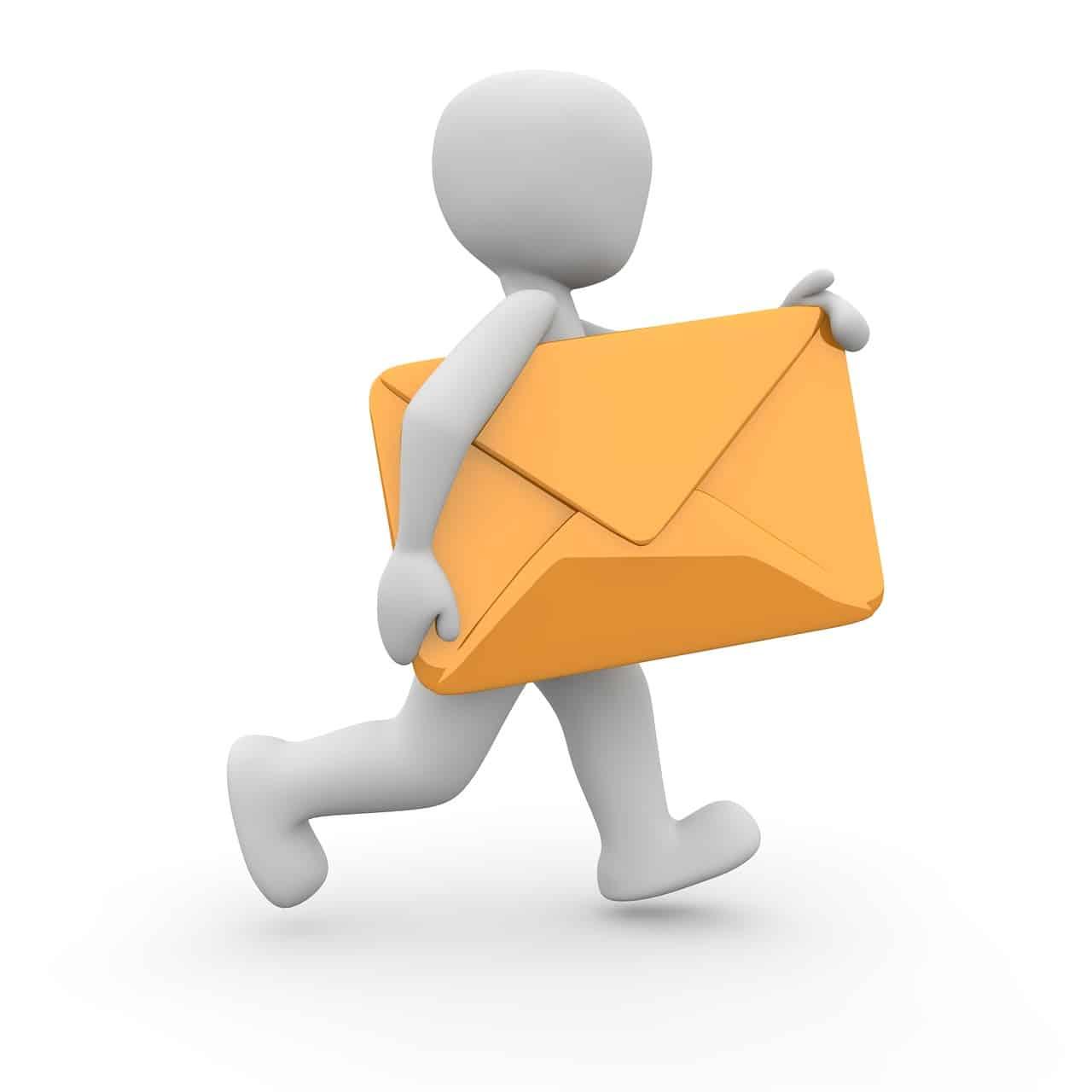 Hivatalos levél érkezése